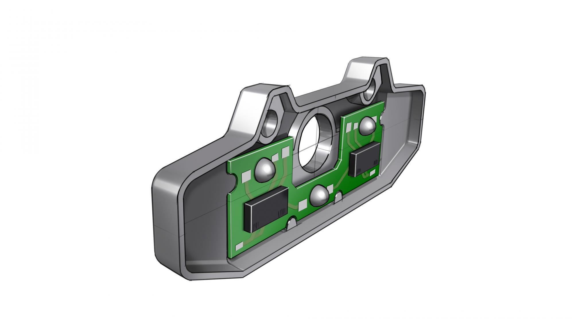 Heat Staking ADAS camera for automotive