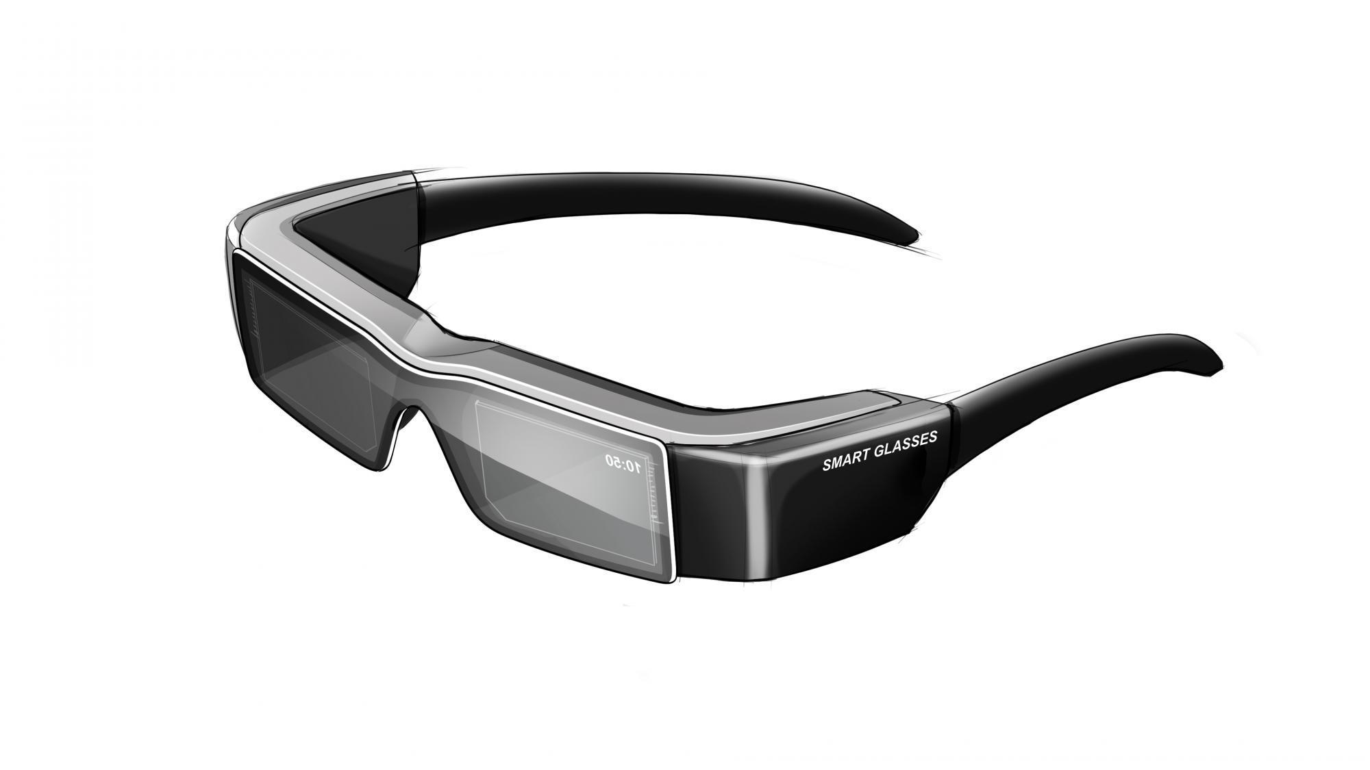 Hot Bar Bonding connections for smart glasses