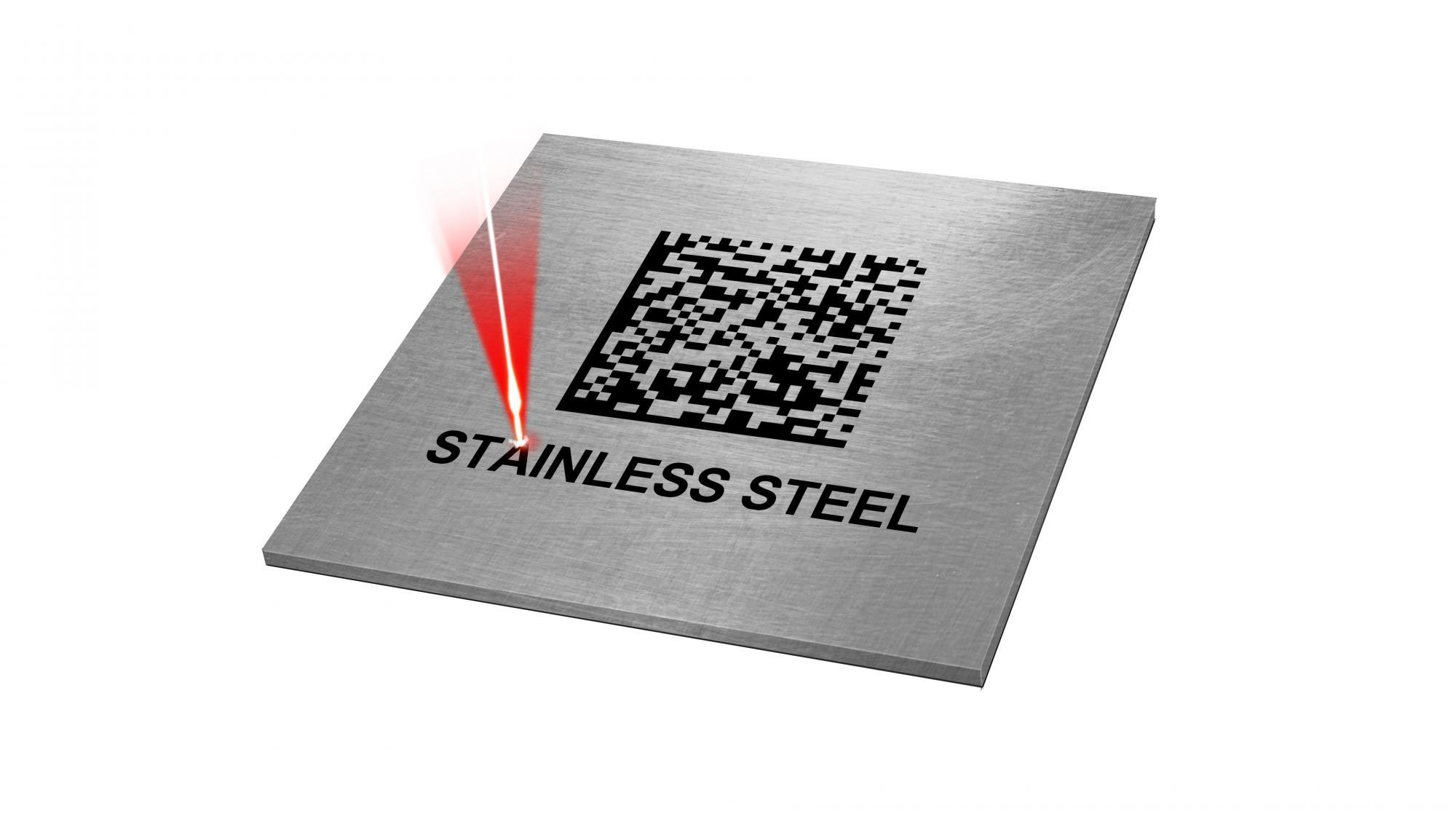 Laser Marking on Stainless Steel
