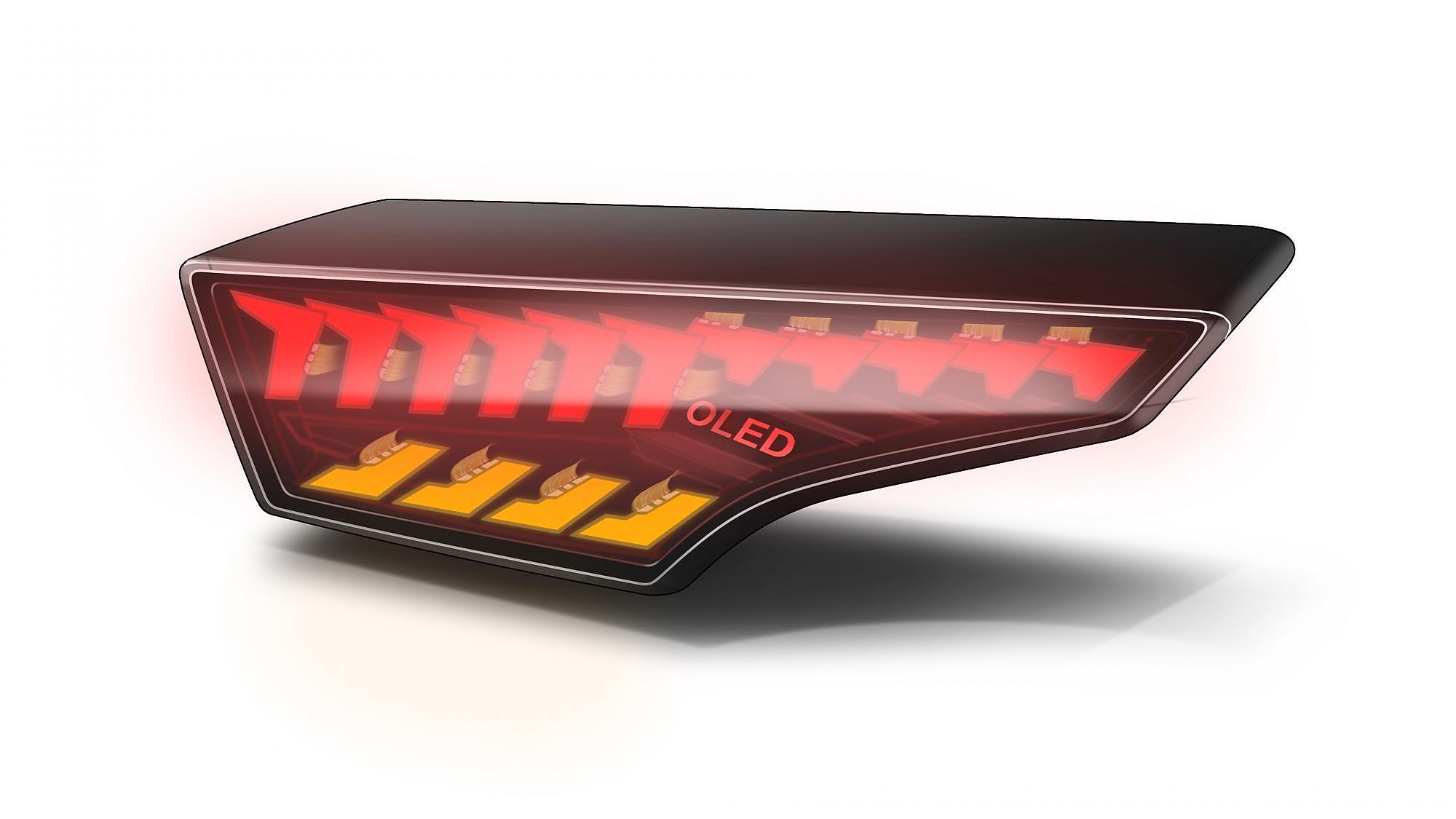 ACF Bonding OLED rear light