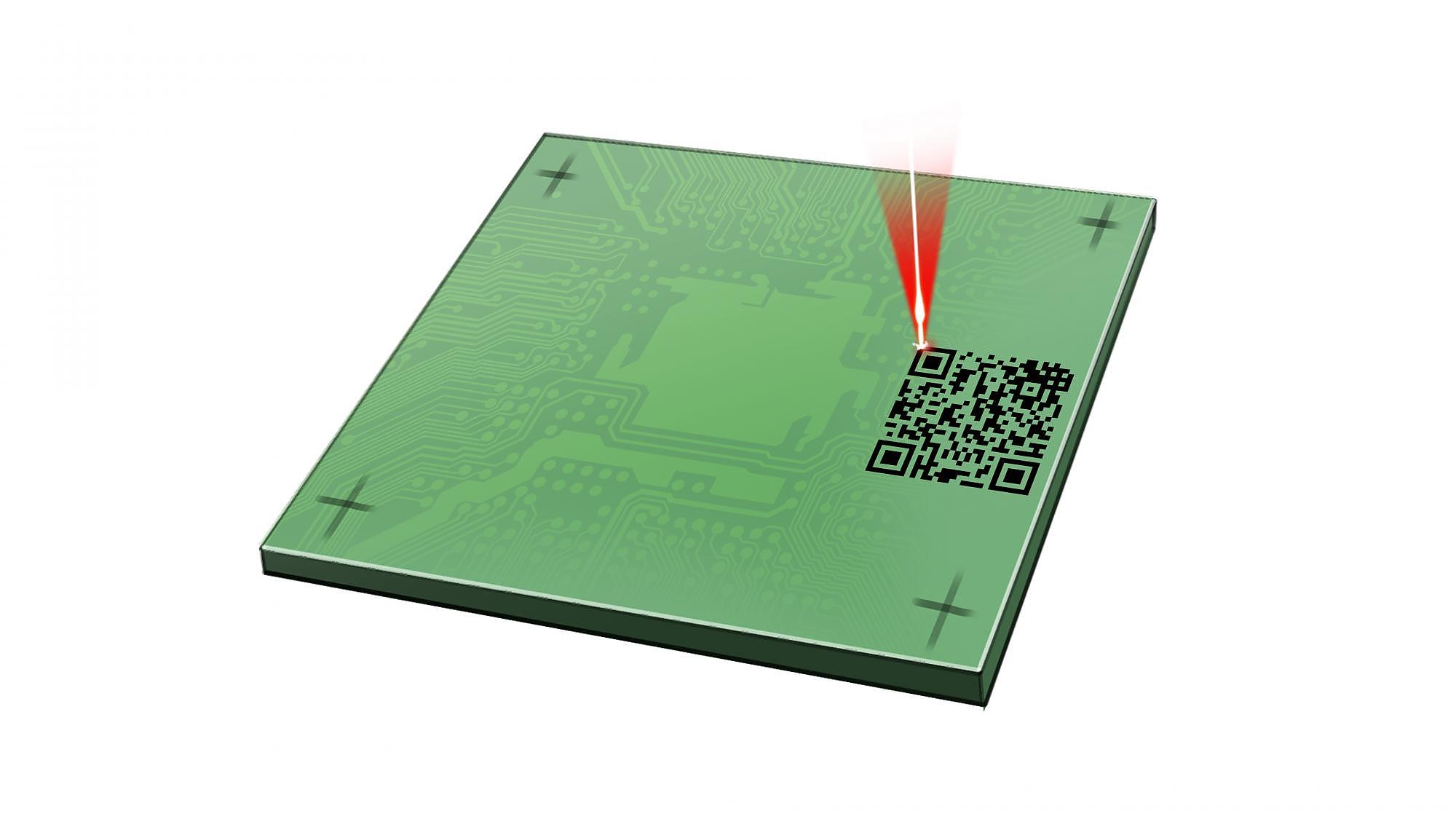 Laser Marking on PCB