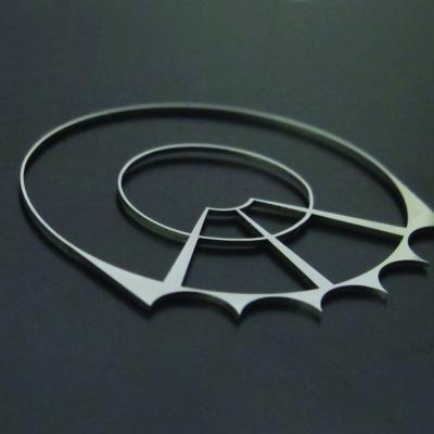 Laser Cutting of stamped parts