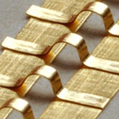 Aerospace gold ribbon bonding